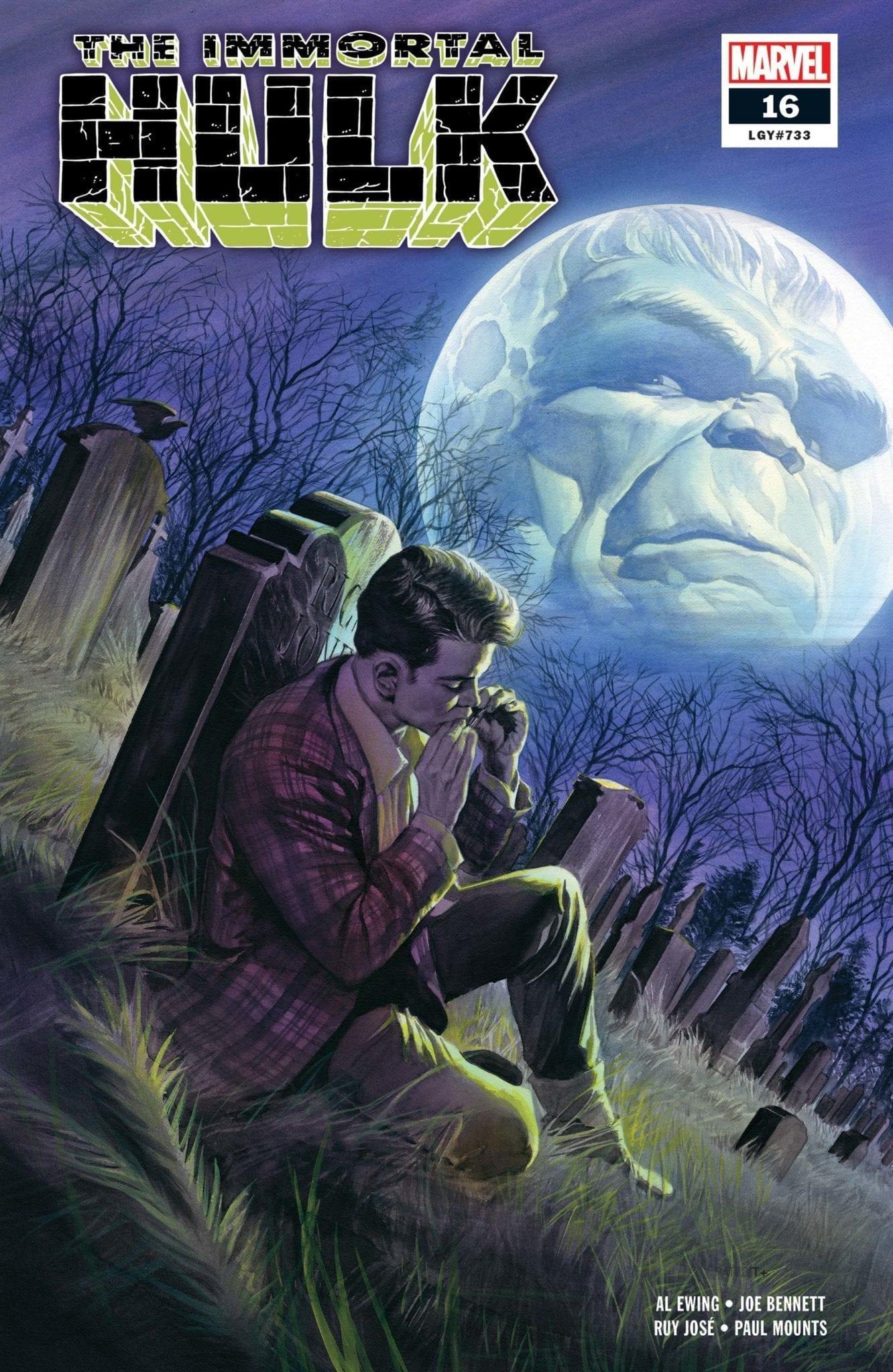 best comic book covers 2019 marvel comics immortal hulk alex ross