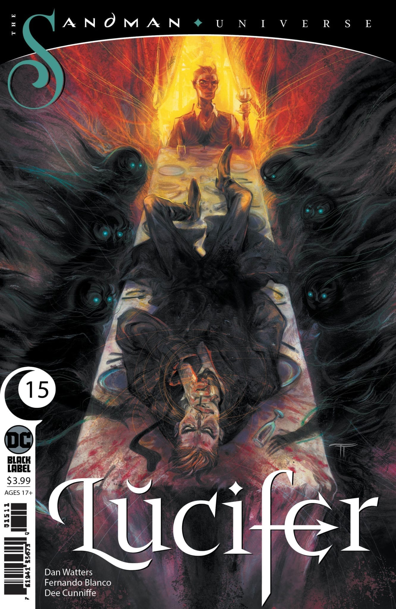 dc comics sandman universe exclusive preview lucifer #15