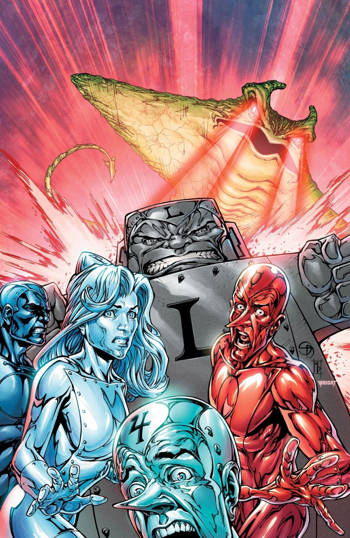 dc comics exclusive preview metal men #3