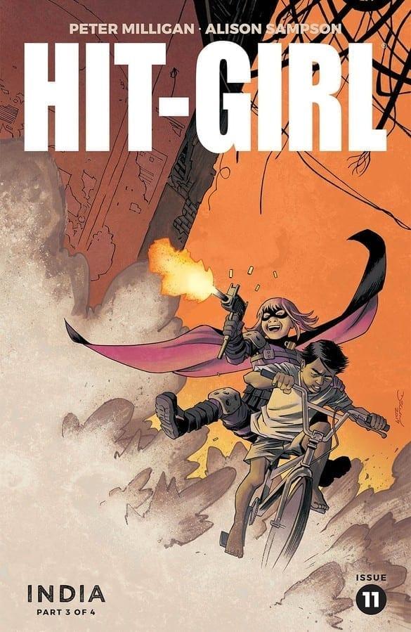 Hit Girl #11 cover