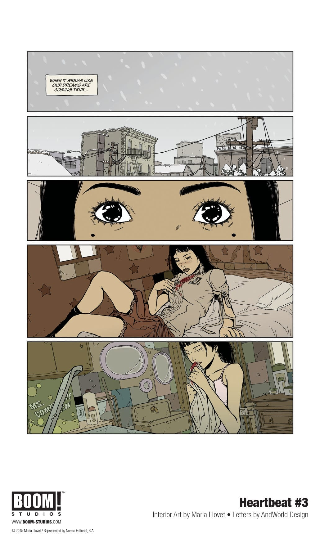heartbeat #3 boom! studios exclusive preview