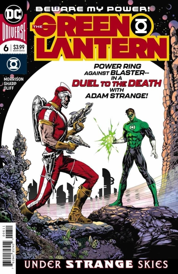 best comic book covers 2019 dc comics green lantern liam sharp