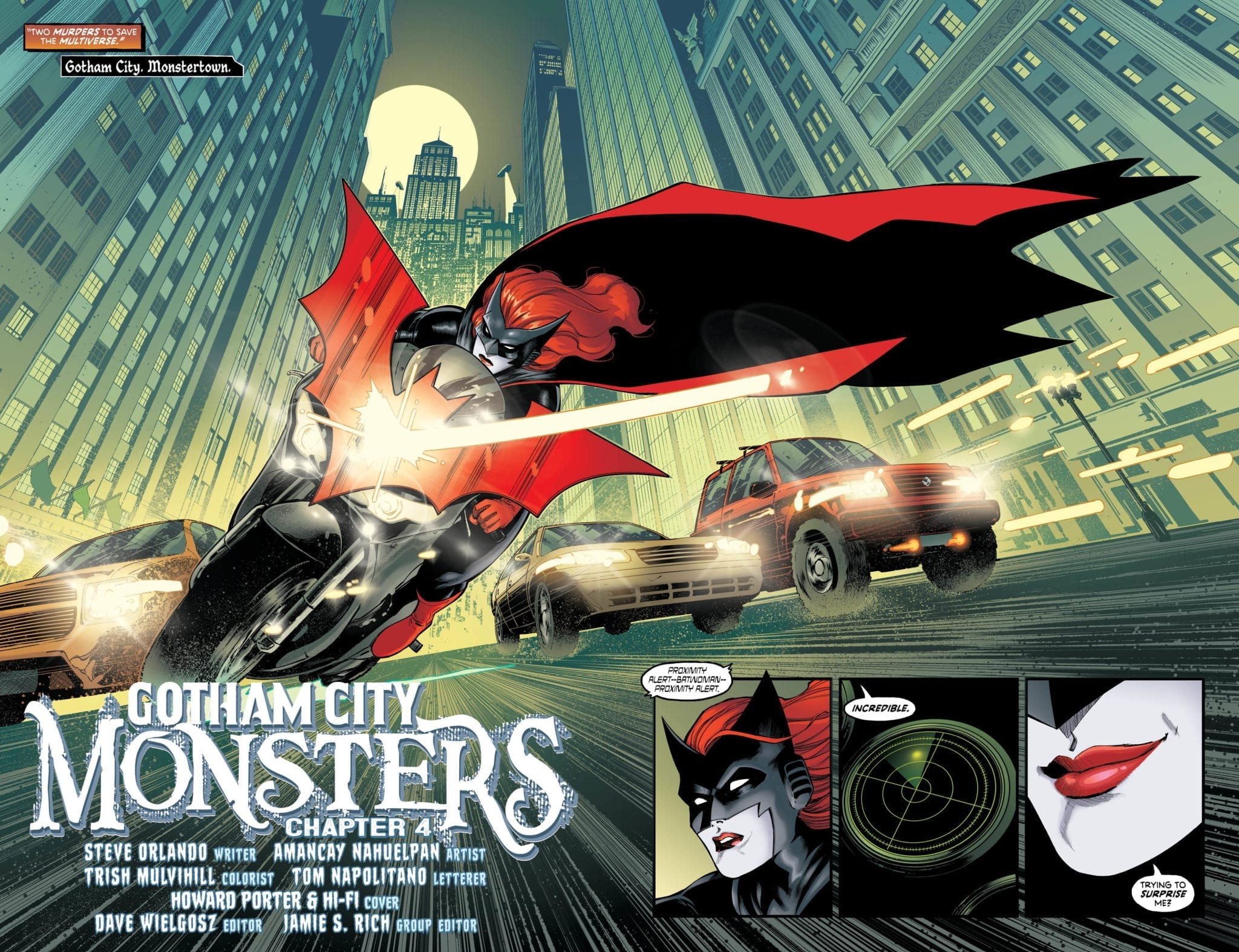 gotham city monsters 4 dc comics exclusive preview