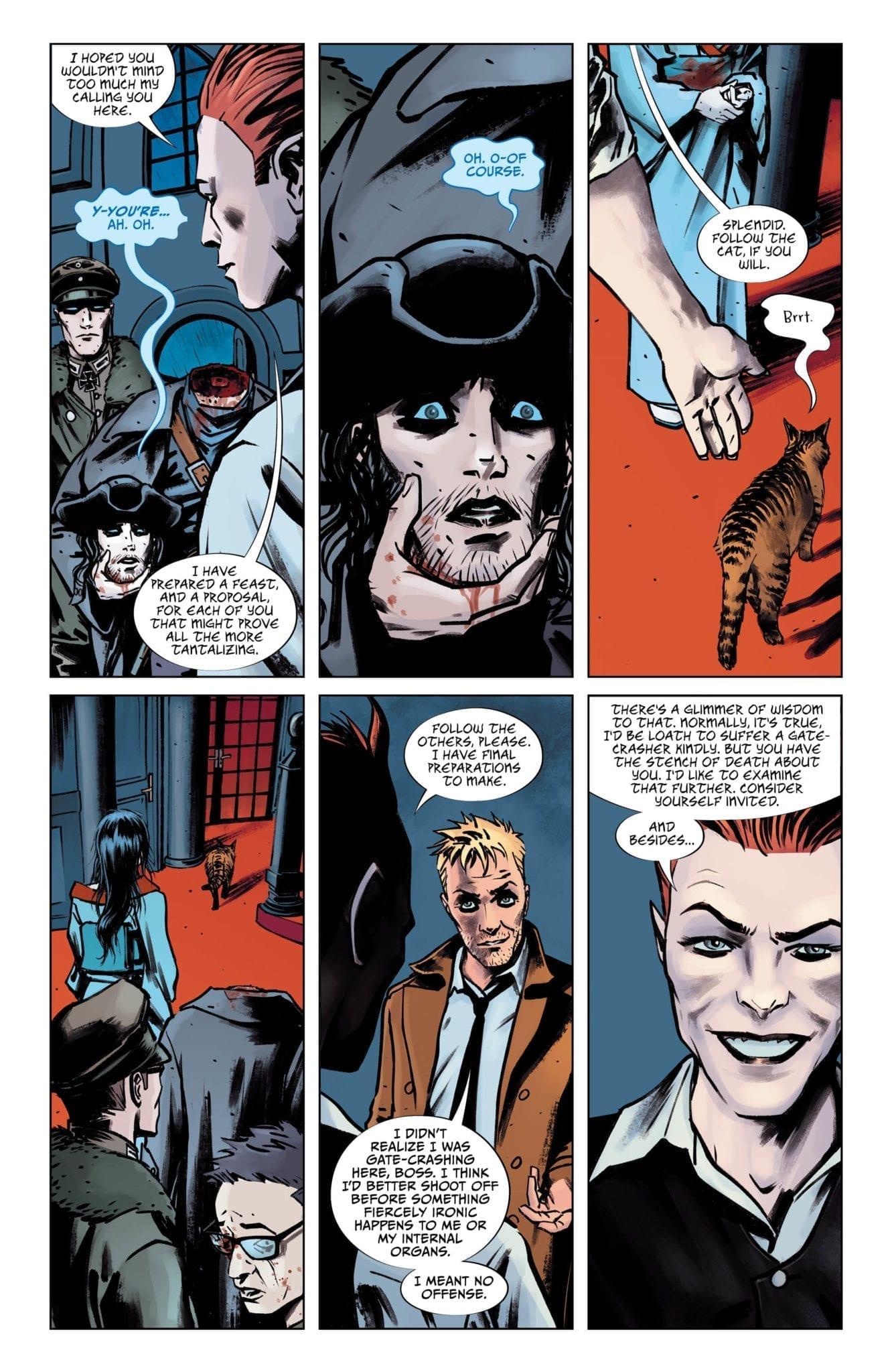 dc comics sandman universe exclusive preview lucifer #15