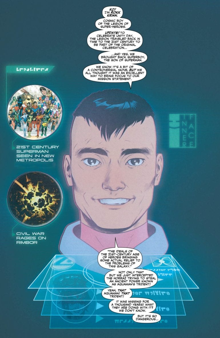 Legion of Superheroes 2 p1