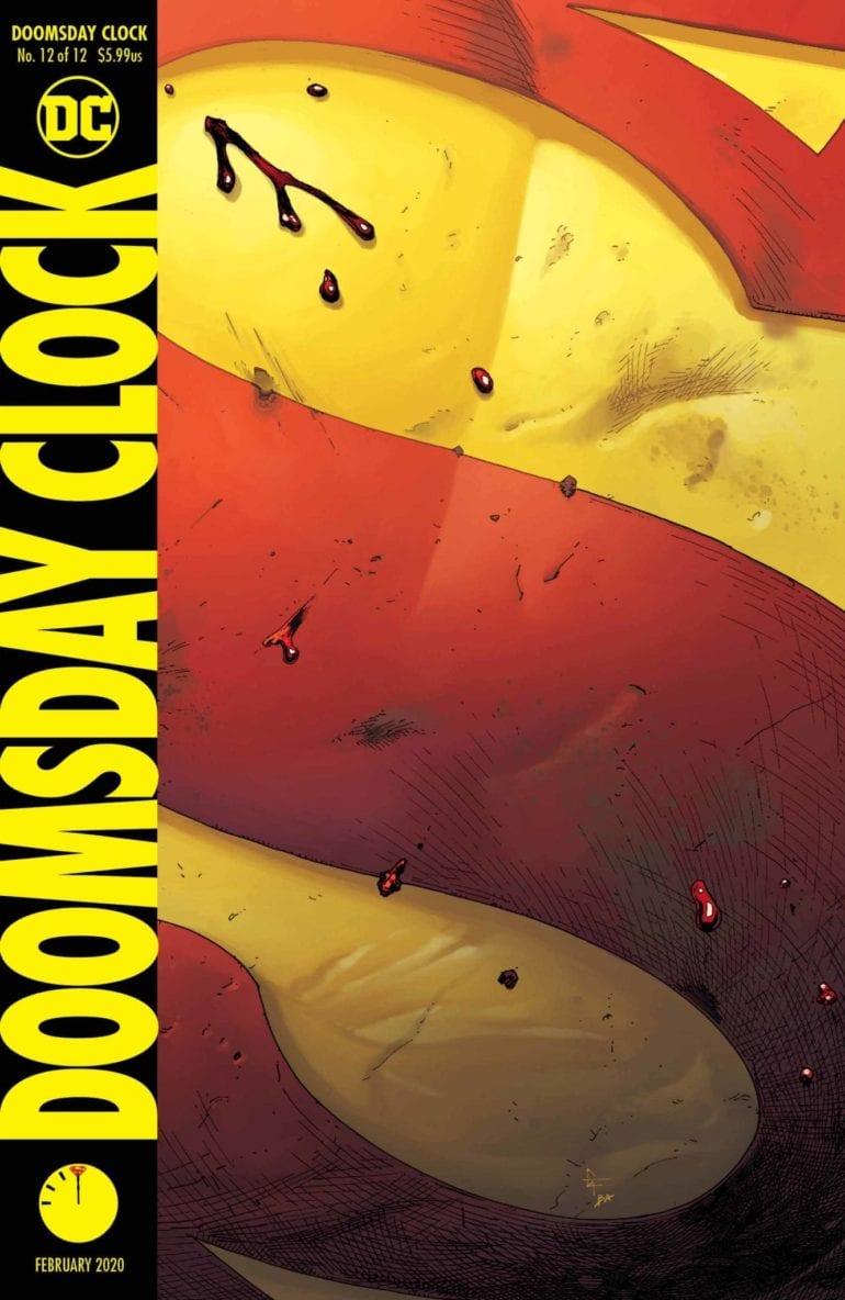 Doomsday Clock 12 cover