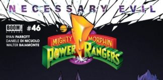 MIGHTY MORPHIN POWER RANGERS #46 Is Very Thought Provoking