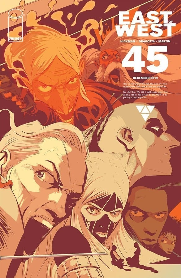 East of West #45 cover