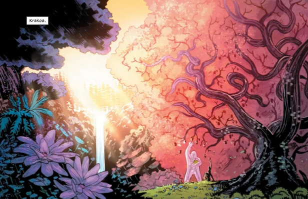 The beauty of Krakoa in New Mutants