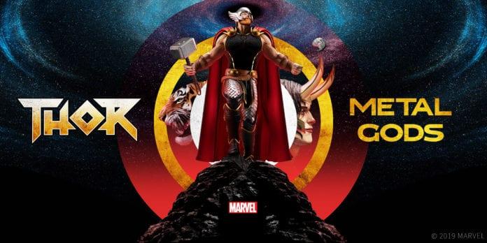 THOR: METAL GODS Starts This Week On Serial Box