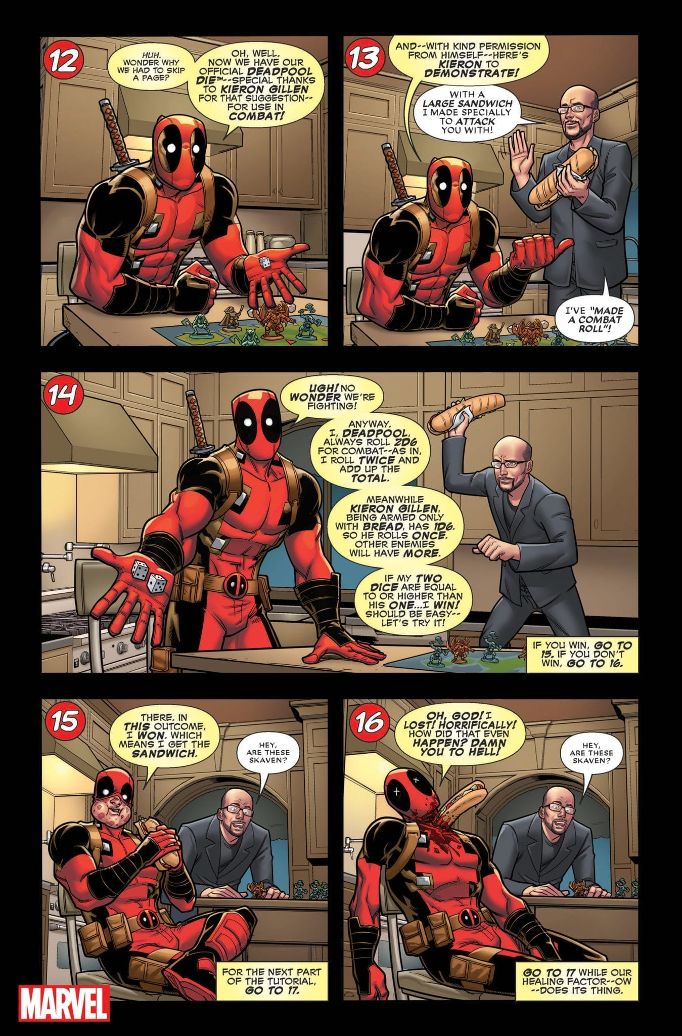 Kieron Gillen in You Are Deadpool