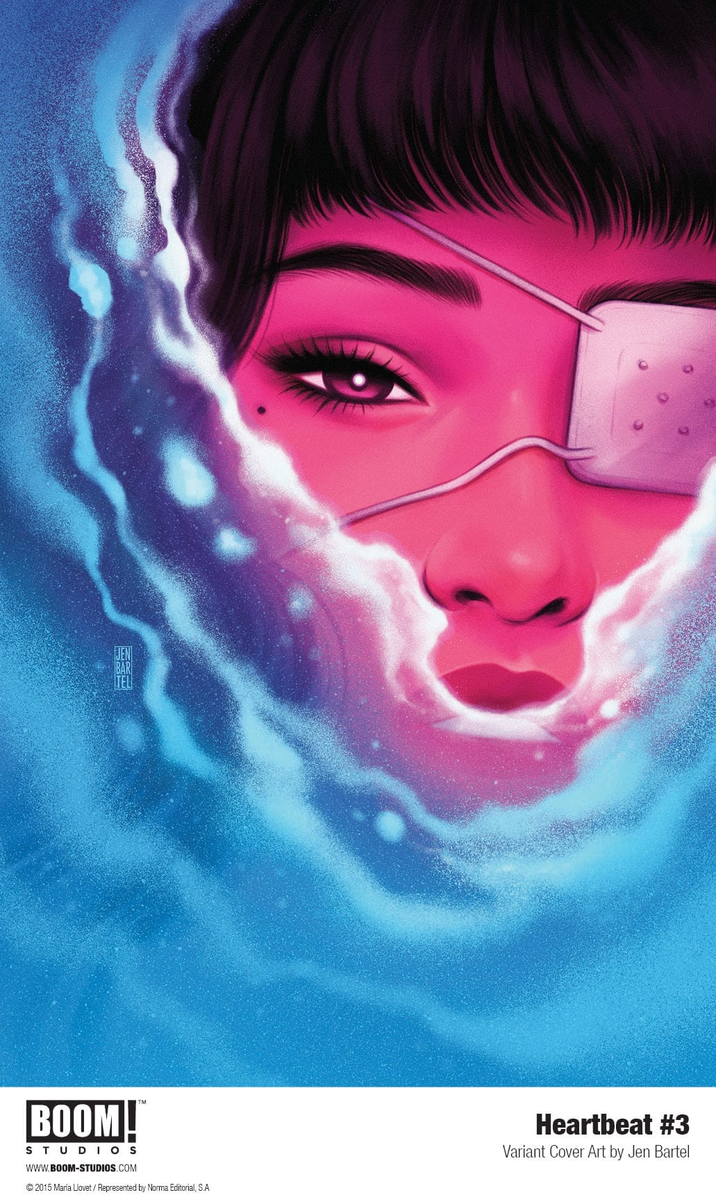 heartbeat #3 boom! studios exclusive preview jen bartel cover
