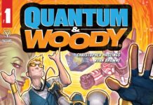 Quantum & Woody #1 back in action.