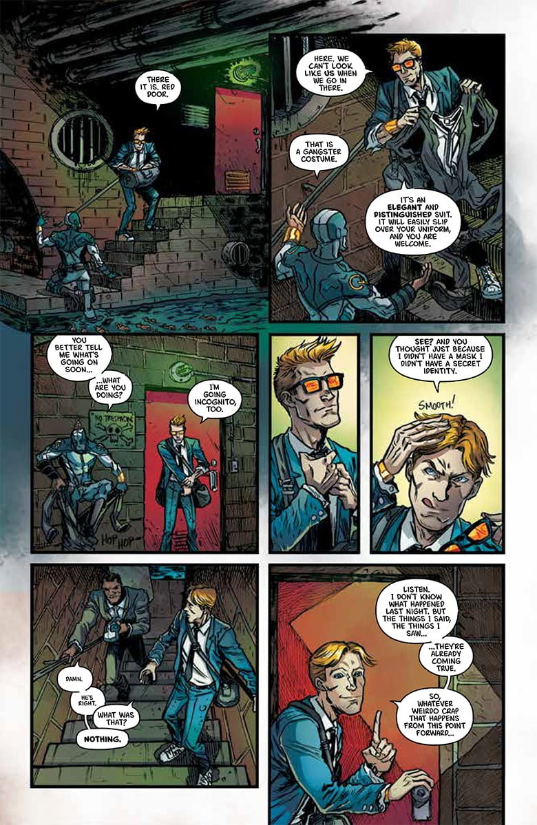 Exclusive Preview: QUANTUM & WOODY #1