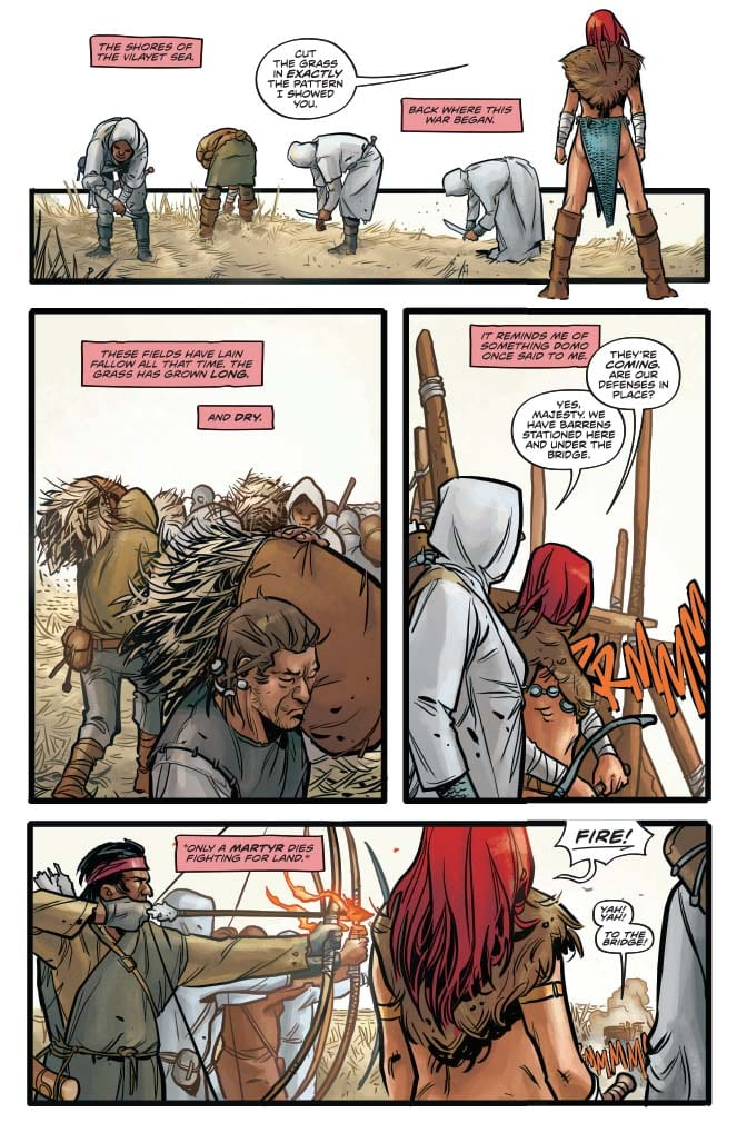 Red Sonja #12 Page 1