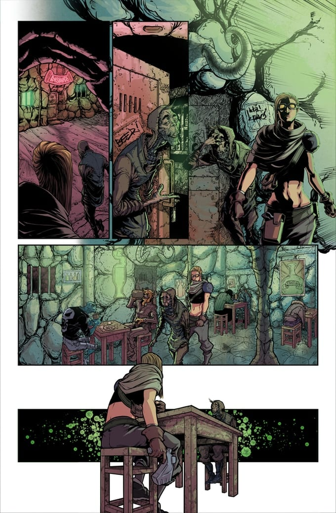 Wretches #2 Page without words.