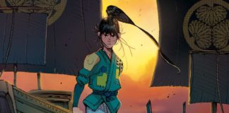 RONIN ISLAND #9 main cover artwork