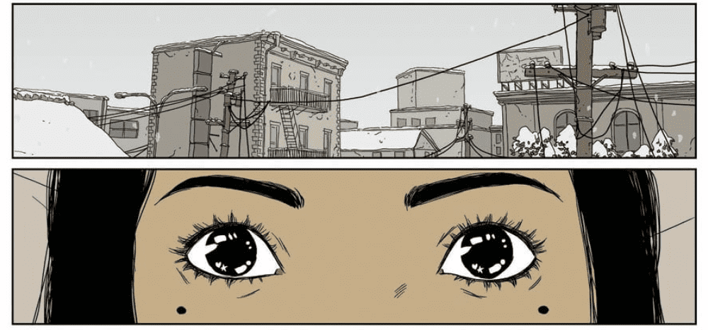 In Heartbeat #3 Eva stares back.
