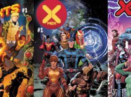 X-Men covers detail