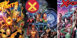 X-Men covers detail