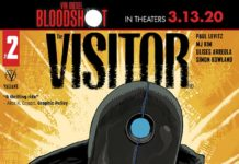 The Visitor #2 cover