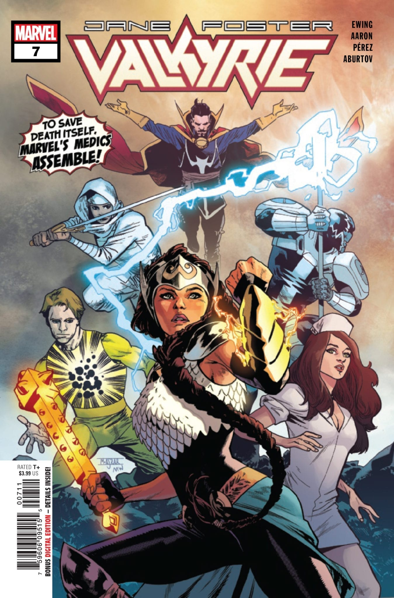 marvel comics exclusive preview valkyrie jane foster #7