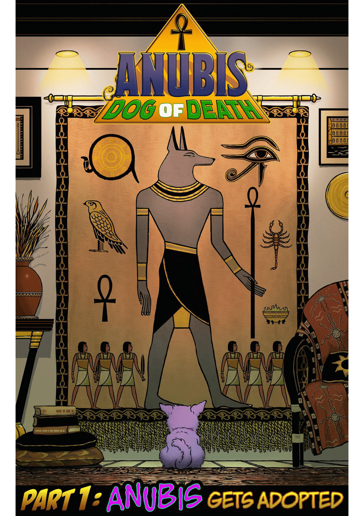 Anubis Dog of Death Cover