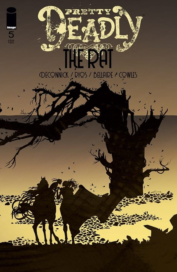 Pretty Deadly The Rat #5 Cover art