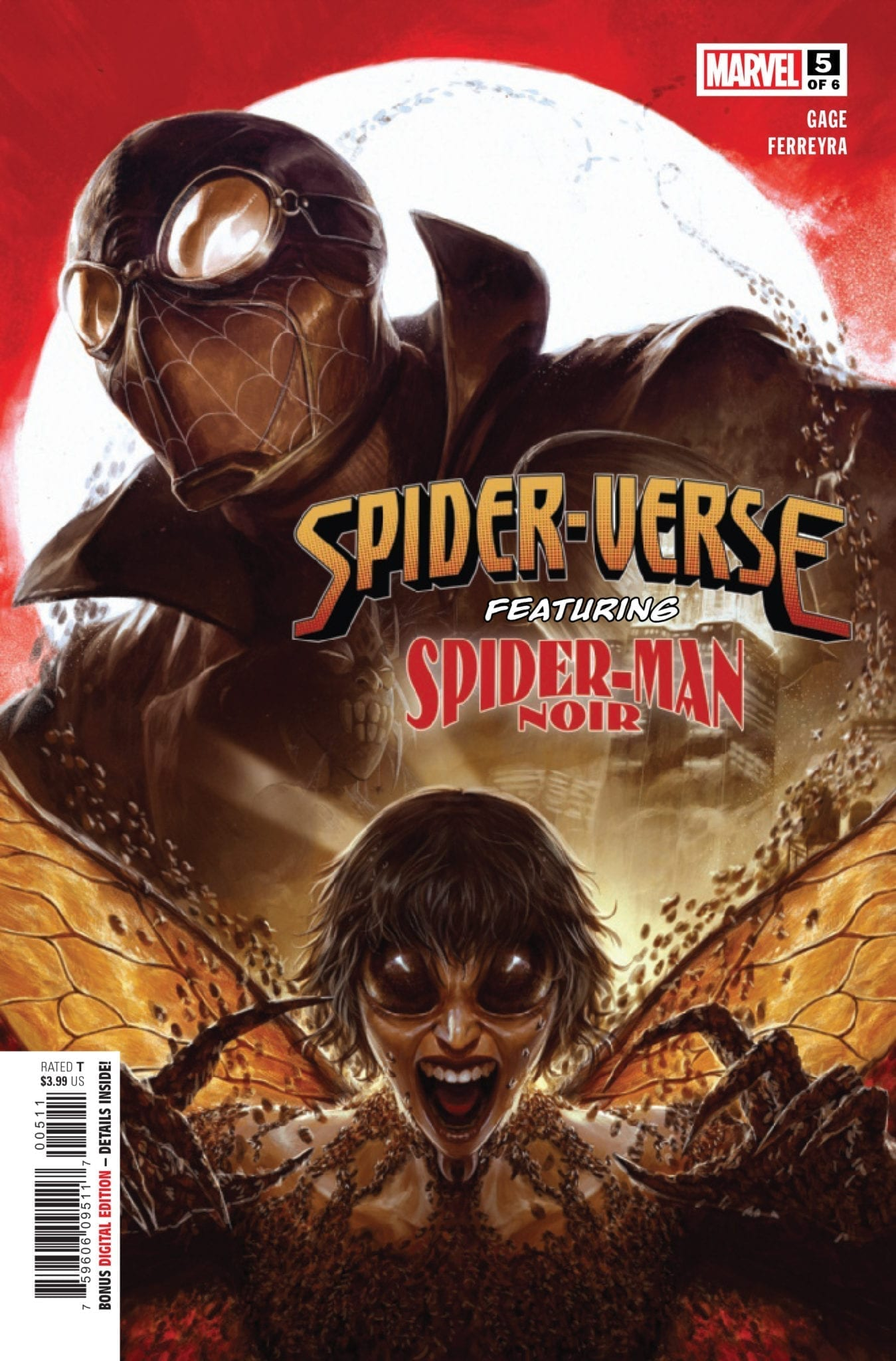 marvel comics exclusive preview spider-verse #5 spider-man noir