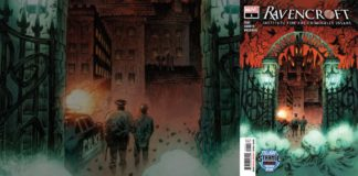 marvel comics exclusive preview ravencroft #1