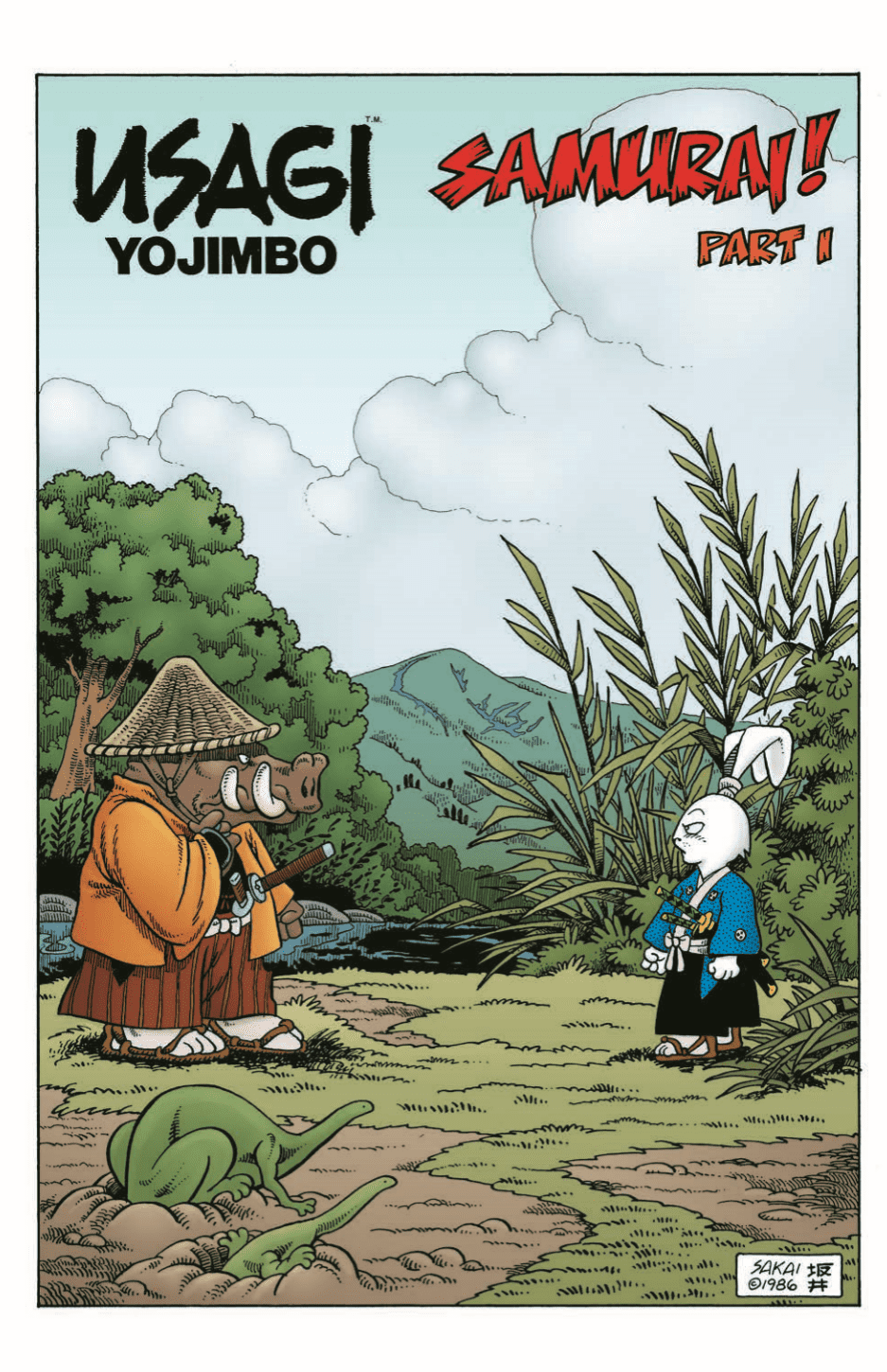 Usagi Yojimbo #1's beautiful beginning