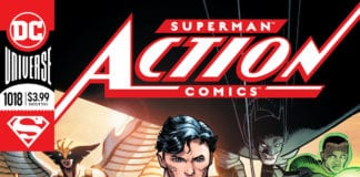 Superman on cover of Action Comics