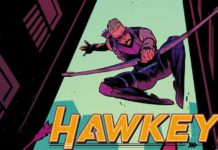 HAWKEYE: FREEFALL #2 main cover artwork