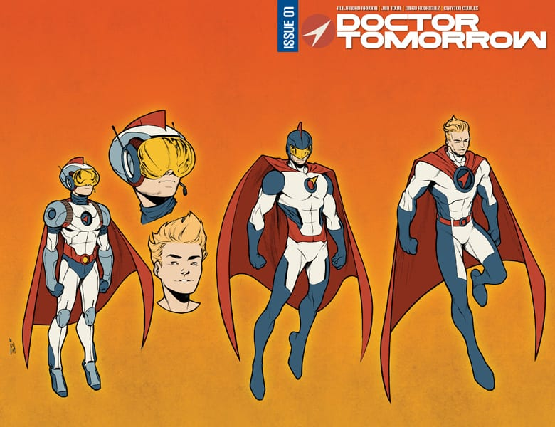 Doctor Tomorrow designs