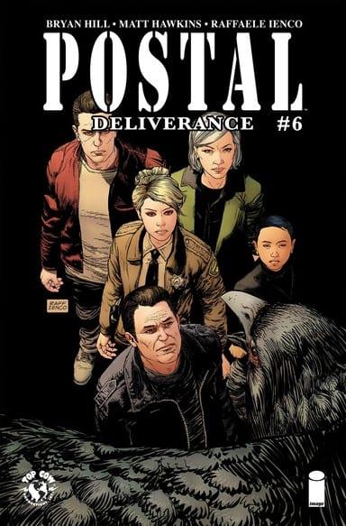 Postal Deliverance #6 Cover