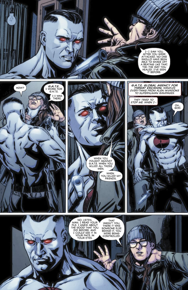 Bloodshot #0 delivers what the main series is missing.