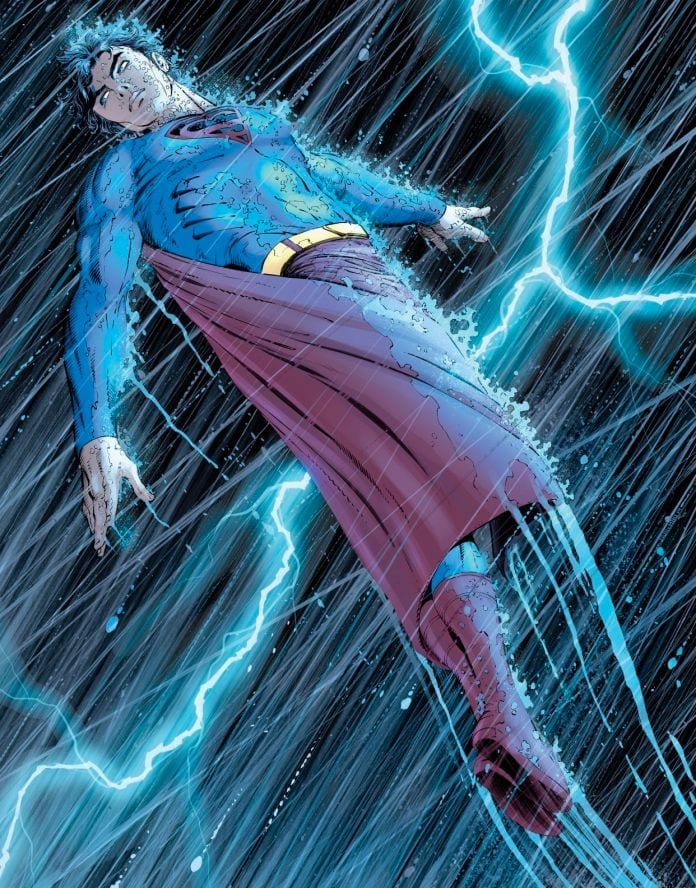 Superman: Year One Splash Page