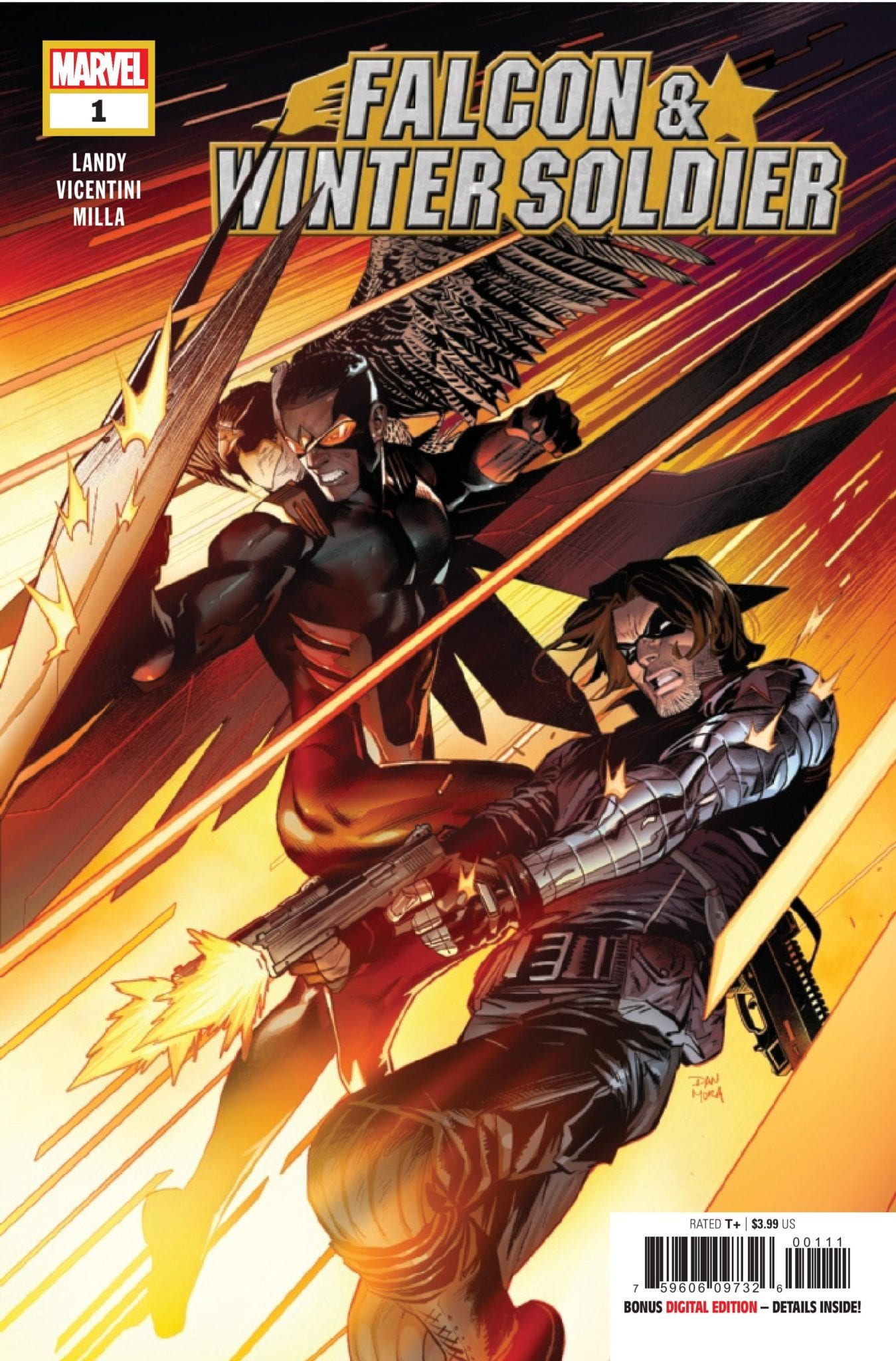 Marvel Comics Preview: FALCON & WINTER SOLDIER #1 - Save The Cat!