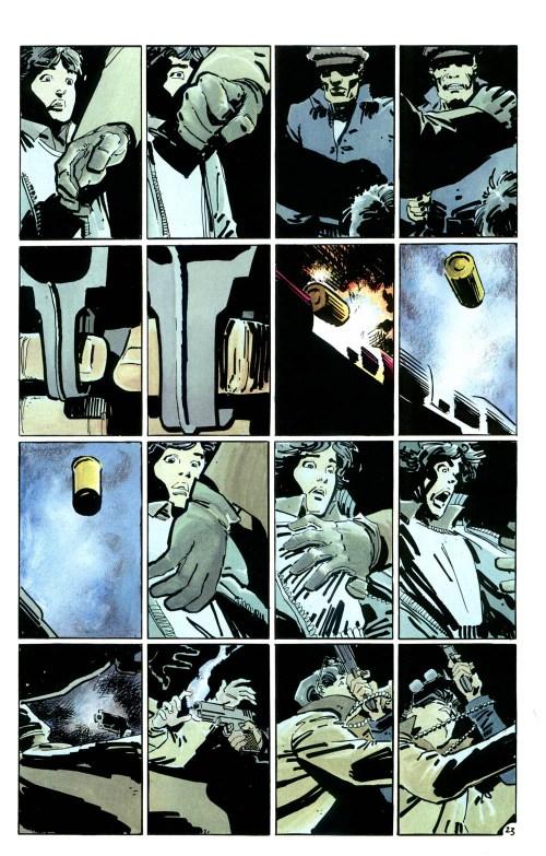 The Dark Night Returns Sixteen Panel Grid