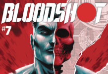 Bloodshot #7 cover
