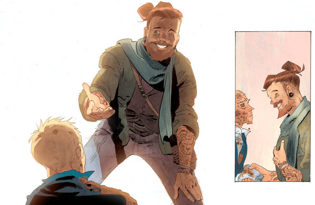 A new helping hand in Hellblazer #4
