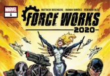 Marvel Comics Preview: FORCE WORKS 2020 #1 - War Machine Tries To Survive