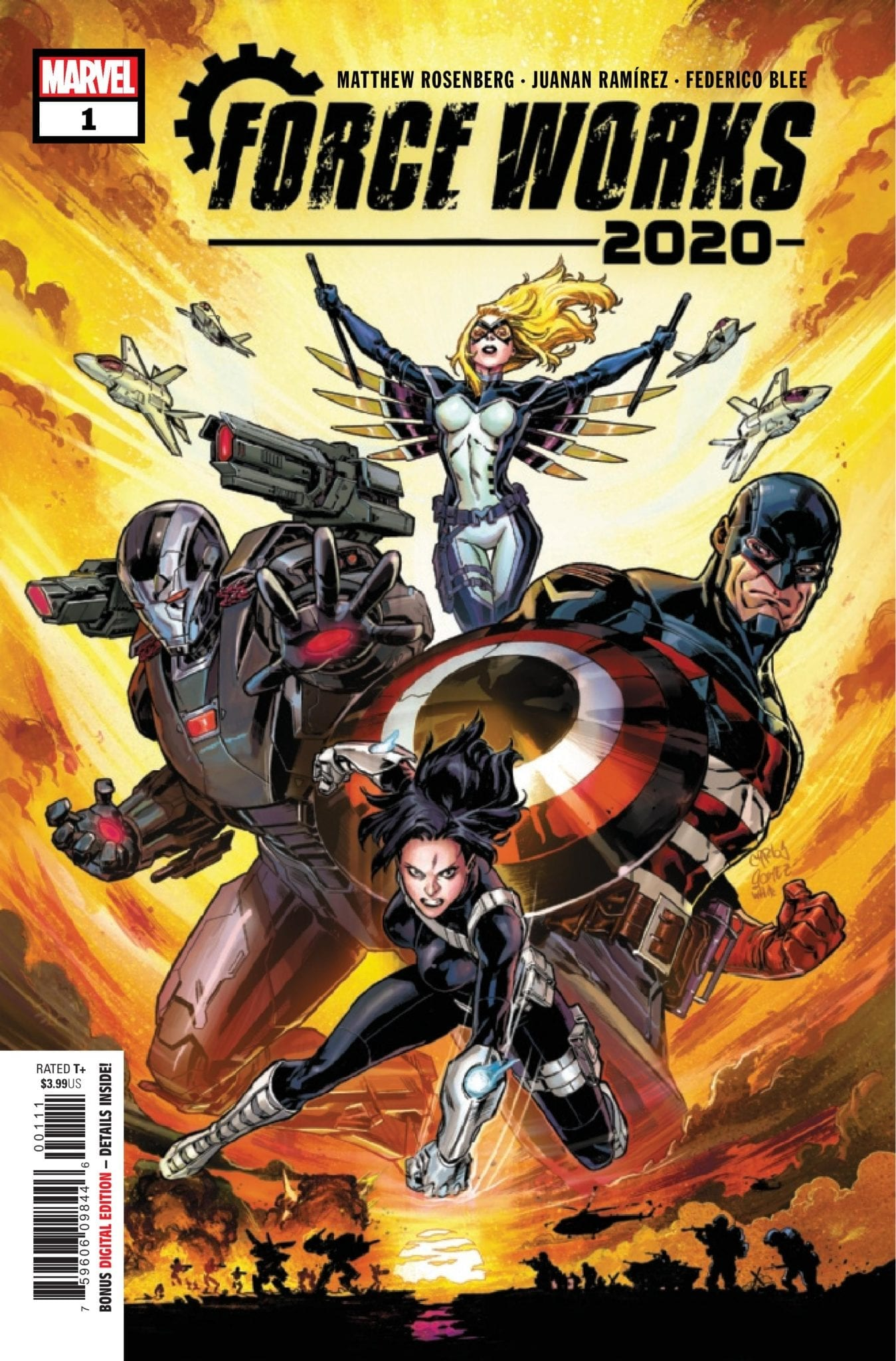 Marvel Comics Preview: FORCE WORKS 2020 #1