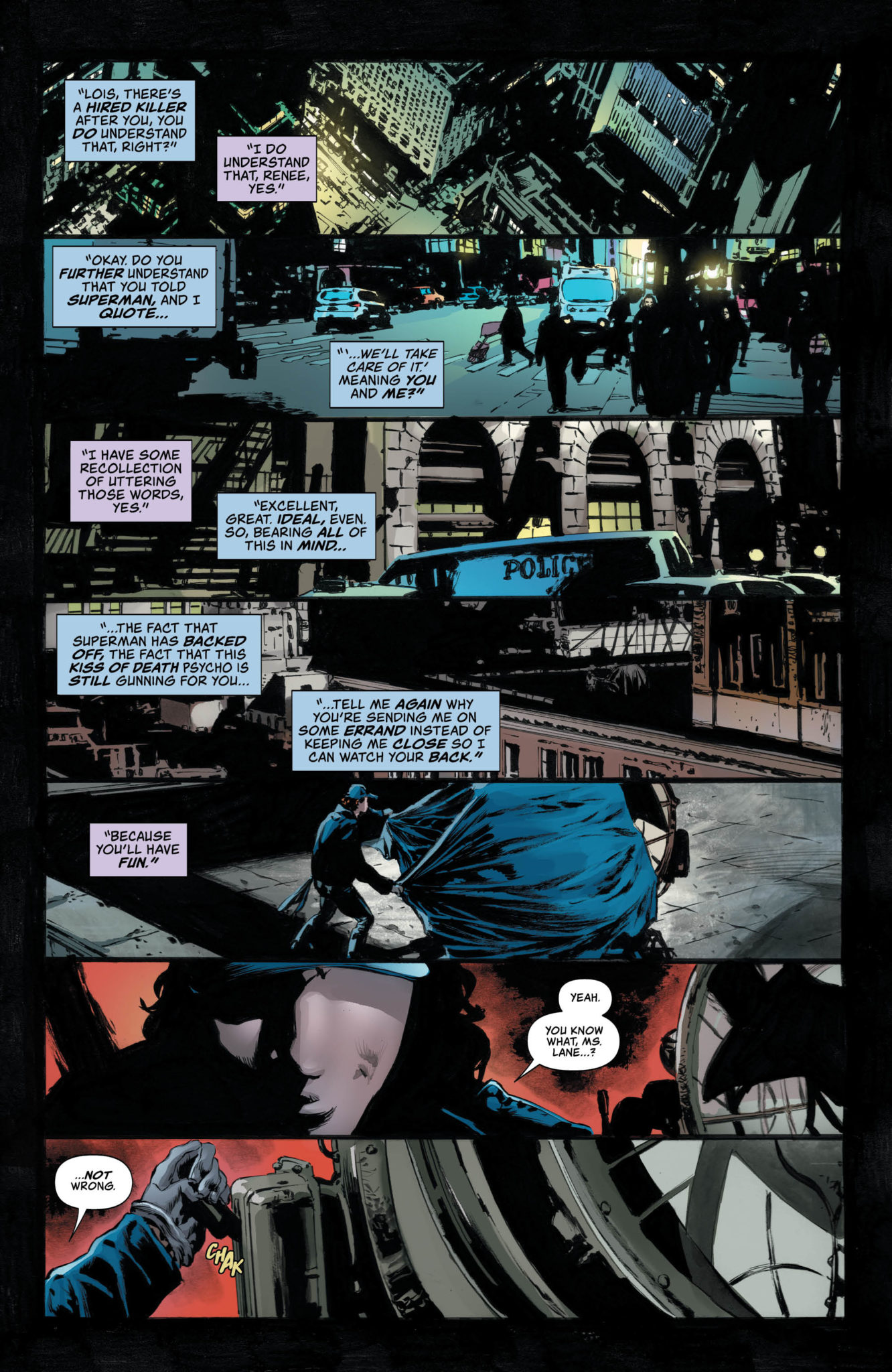 Lois Lane Rucka Batman the Question