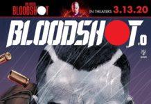 Bloodshot #0 cover