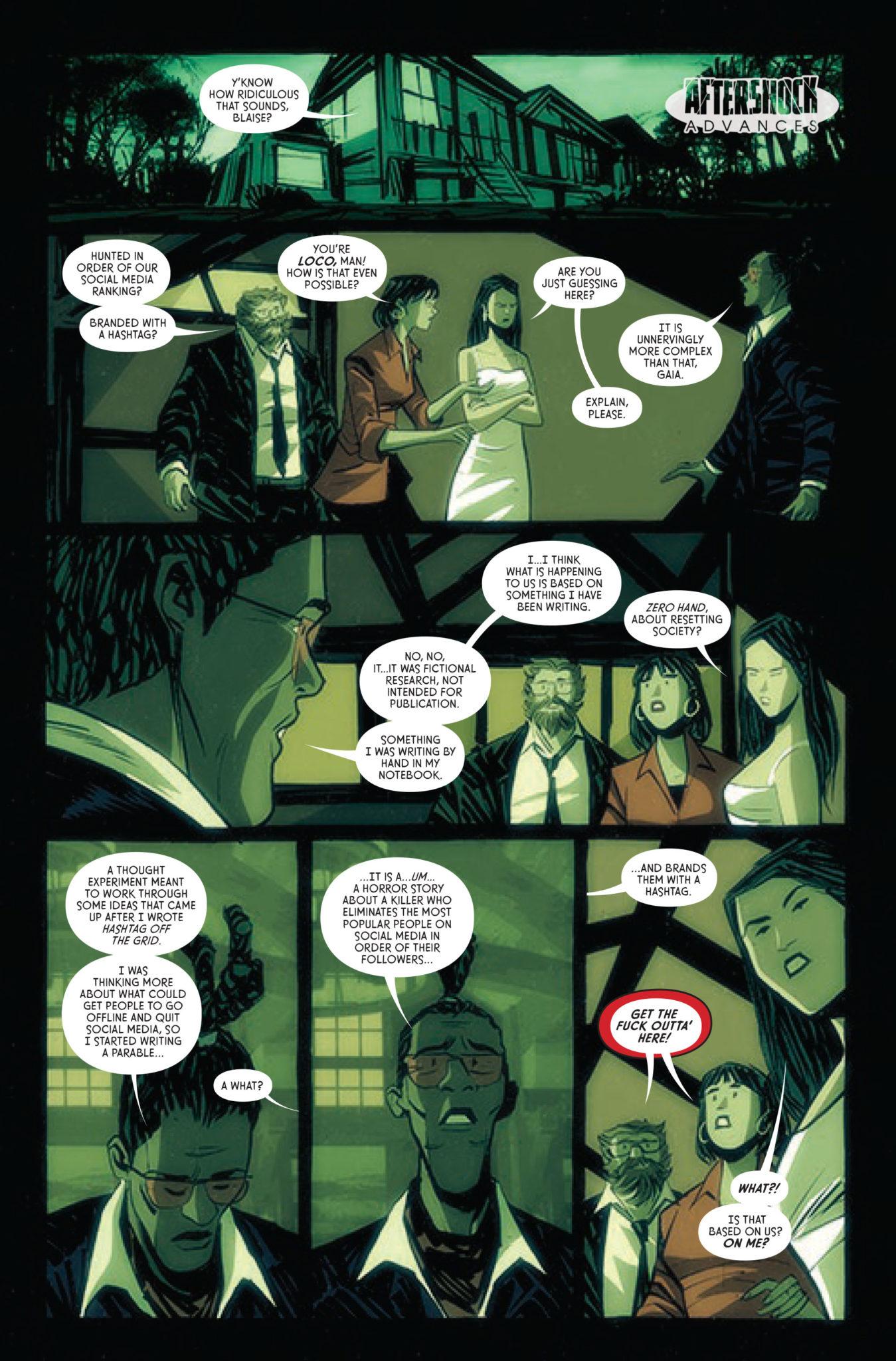 aftershock comics exclusive preview bad reception #4