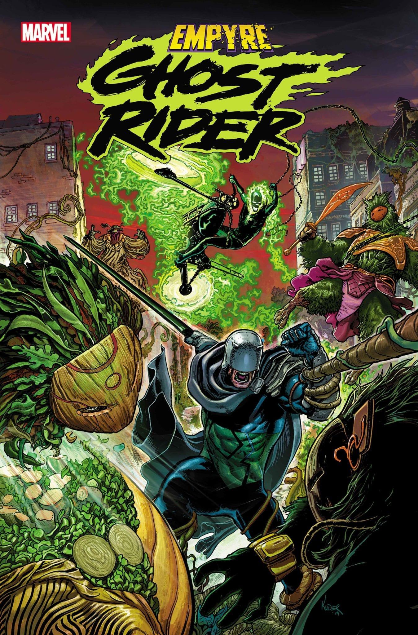 Marvel Comics Announces EMPYRE: GHOST RIDER #1 One-Shot For May