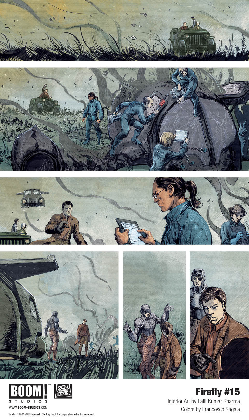 boom studios exclusive preview firefly #15
