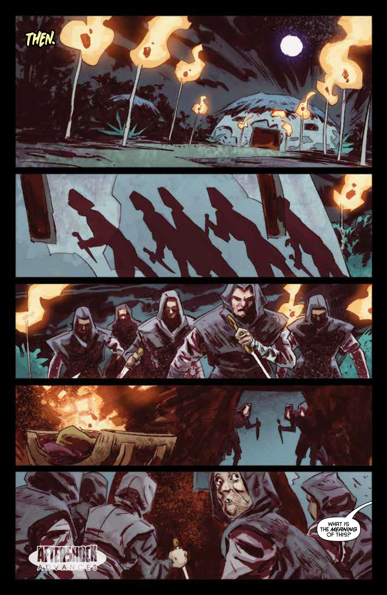 AfterShock Exclusive Preview: DARK ARK: AFTER THE FLOOD #3