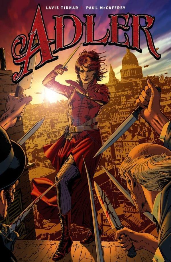 Adler #1 Cover